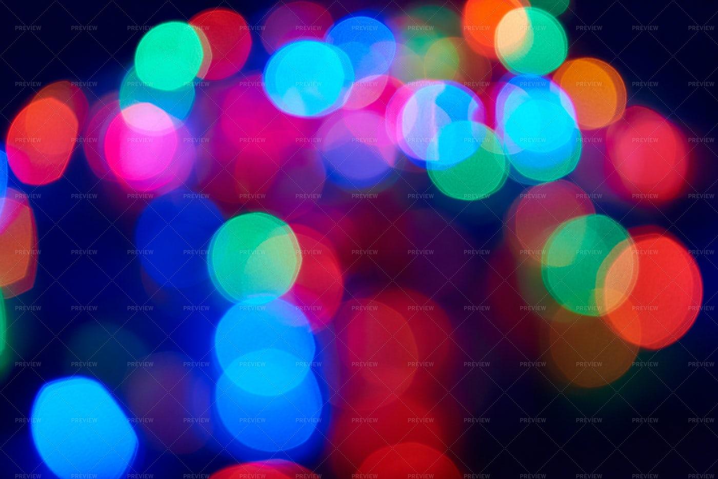 Blurred City Lights: Stock Photos