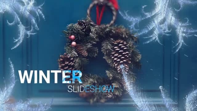 Snow Slideshow: After Effects Templates