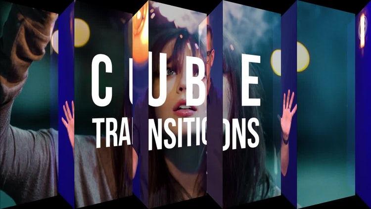 Cube Transitions: Premiere Pro Templates