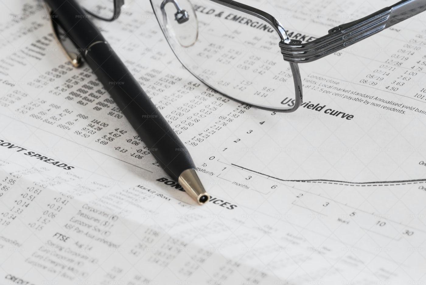 Financial Market Analysis: Stock Photos