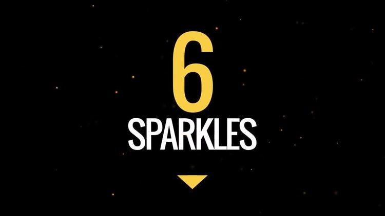 Sparkles Pack: Stock Motion Graphics