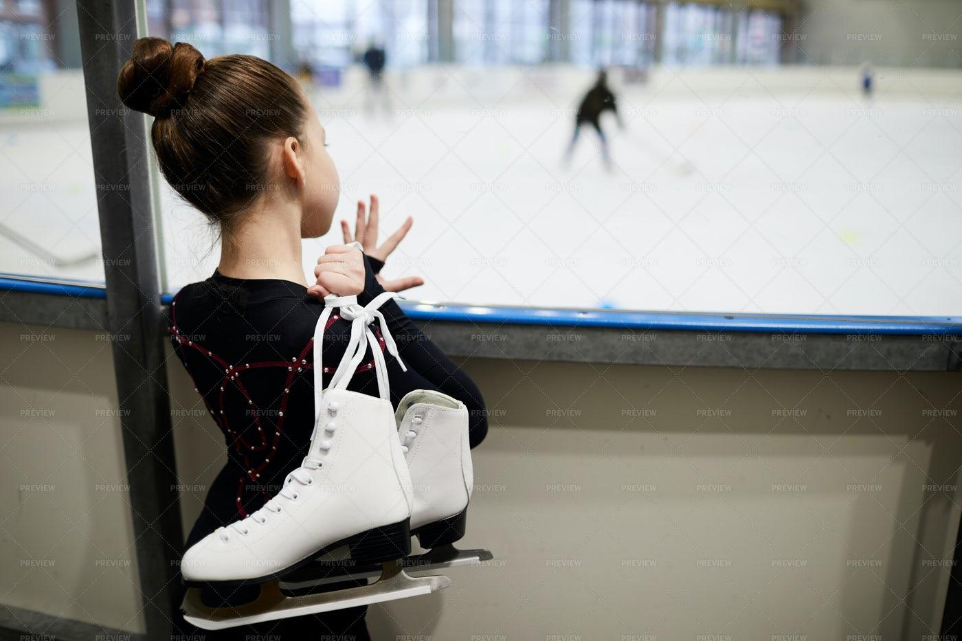 Dream Of Figure Skating: Stock Photos