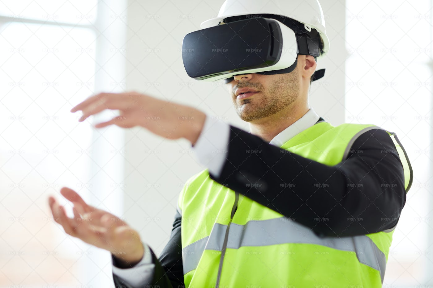 Engineering In VR: Stock Photos