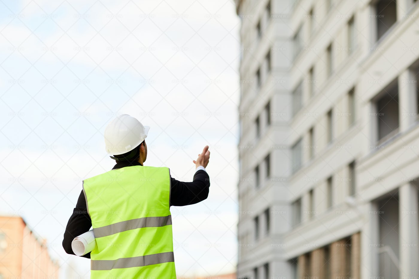 Unrecognizable Worker At...: Stock Photos