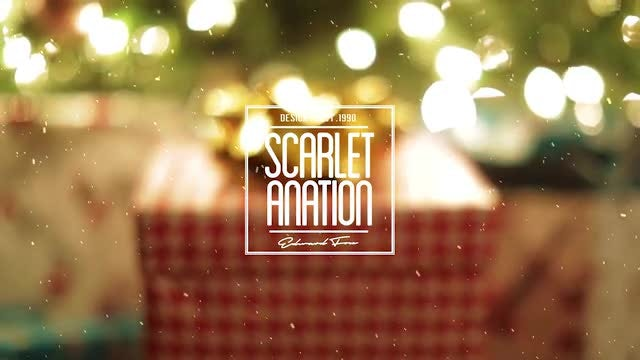 Merry Christmas Titles: After Effects Templates