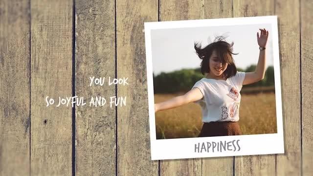 Happy Slideshow: Premiere Pro Templates