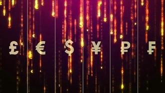 Money Rain: Motion Graphics