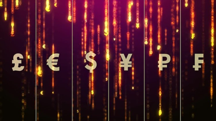 Money Rain: Stock Motion Graphics