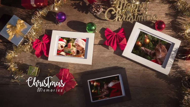 Christmas Photo Frame: After Effects Templates