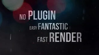 Dynamic Trailer: After Effects Templates
