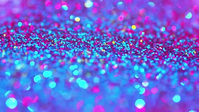 Sparkling Glitter: Stock Video