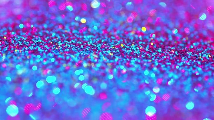 Sparkling Glitter: Stock Video