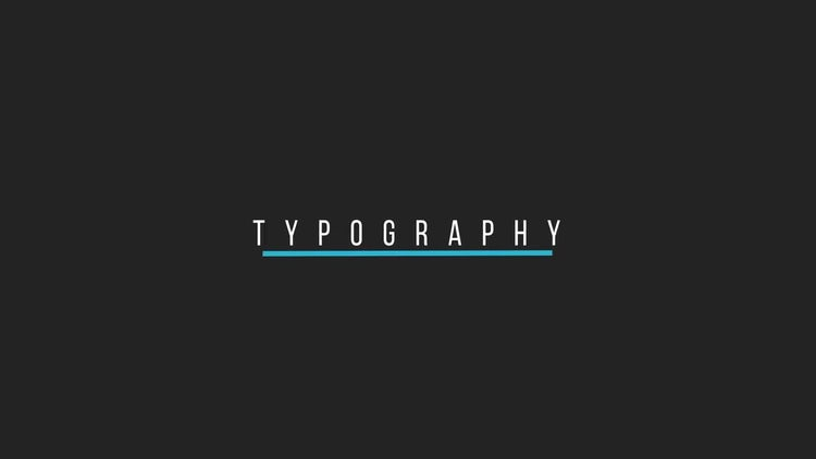 Minimal Titles: Motion Graphics Templates