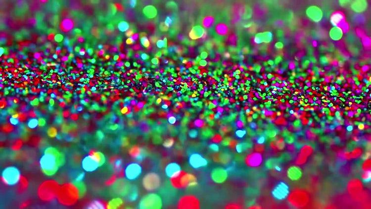 Christmas Glitter: Stock Video