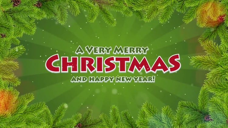 Dynamic Christmas Slideshow: After Effects Templates