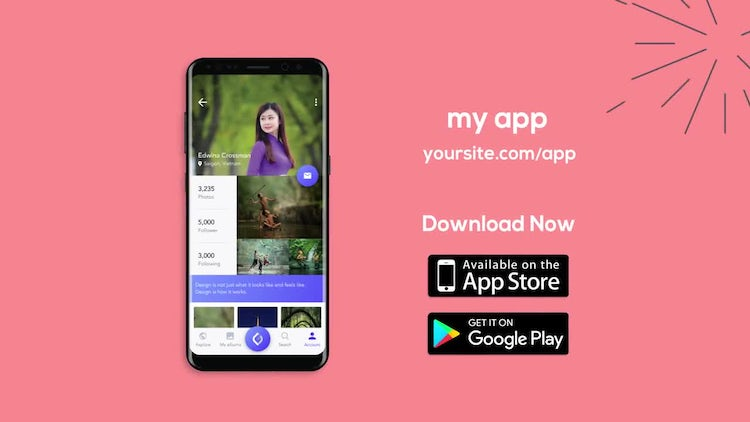 Android Mobile App Promotion: After Effects Templates