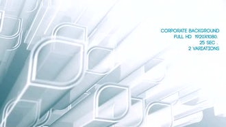 Corporate Background White: Motion Graphics