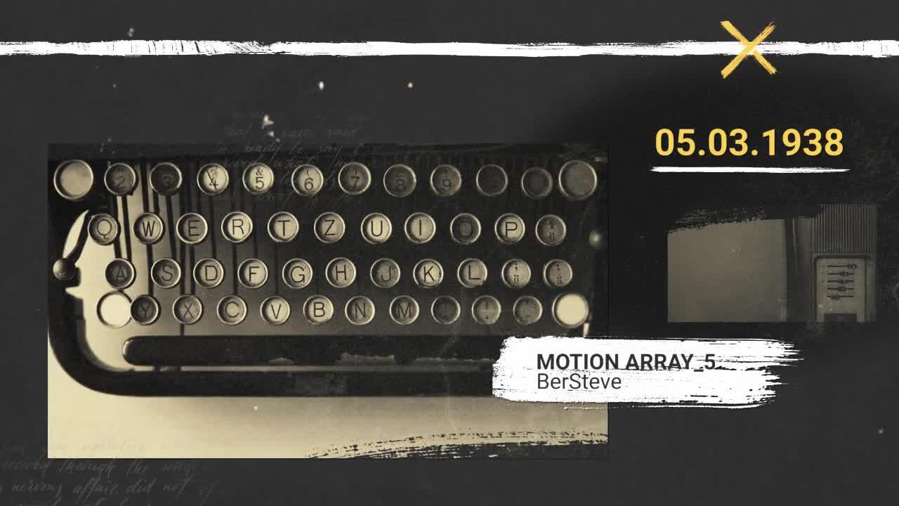 history memories slideshow premiere pro templates motion array. Black Bedroom Furniture Sets. Home Design Ideas