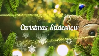 Christmas Slideshow : Premiere Pro Templates