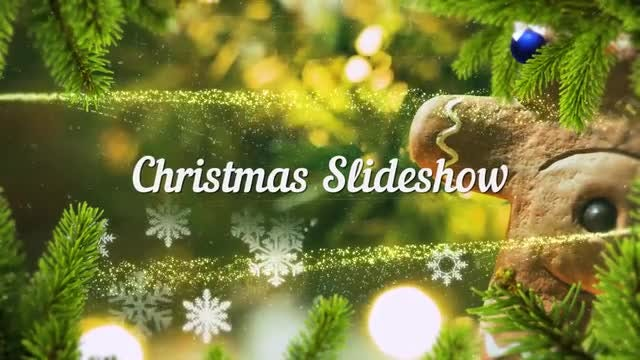 Christmas Slideshow : Premiere Pro Templates