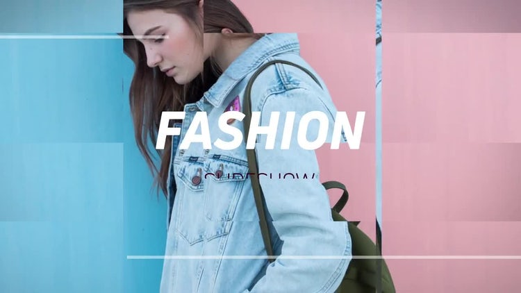 Fashion Promo Slideshow: After Effects Templates