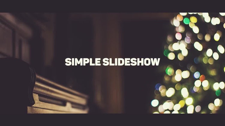 Simple Slideshow: Premiere Pro Templates