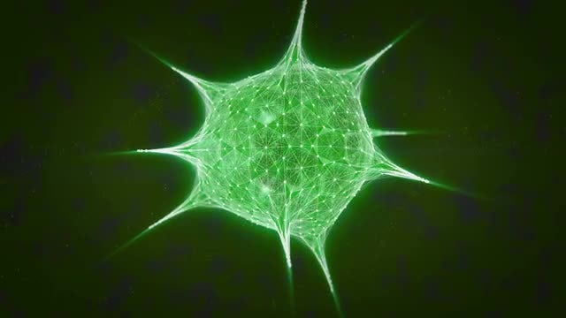 Virus DNA: Stock Motion Graphics