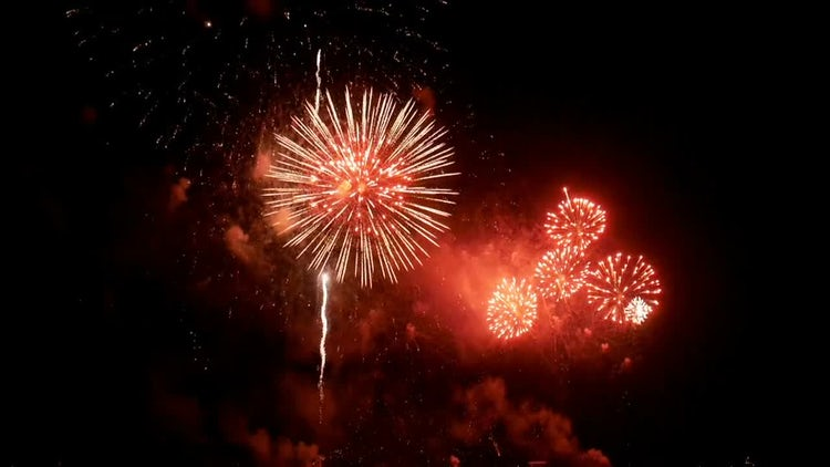 Fireworks Celebration: Stock Video