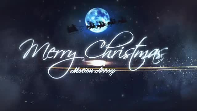 Christmas: After Effects Templates