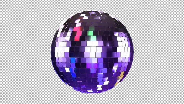 Disco Ball: Stock Motion Graphics