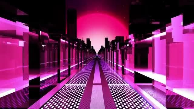 Neon City: Stock Motion Graphics