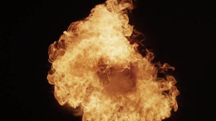 Fireball 05: Stock Video