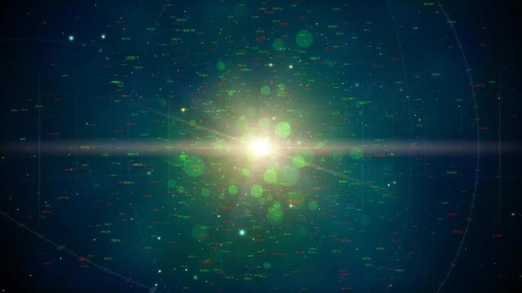 Digital Universe Loop: Motion Graphics