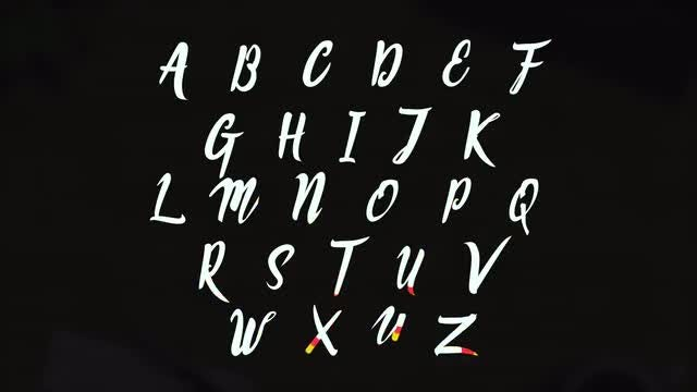 Animated Font: Stock Motion Graphics