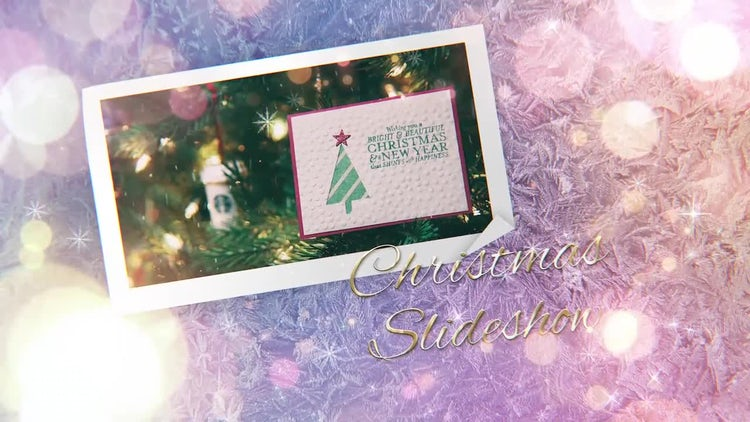Christmas Holidays Slideshow Opener: Premiere Pro Templates