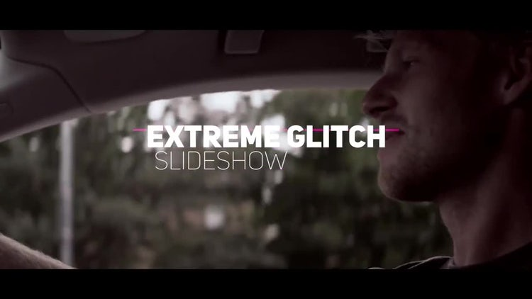 Dynamic Glitch Slideshow Opener: Premiere Pro Templates