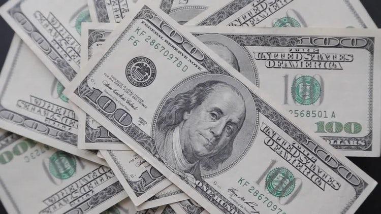 Dollars: Stock Video