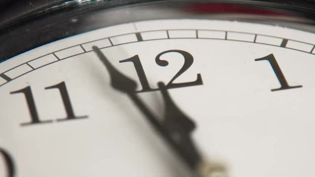 Clock face: Stock Video