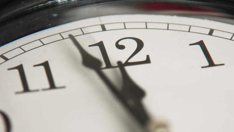 Clock face: Stock Video