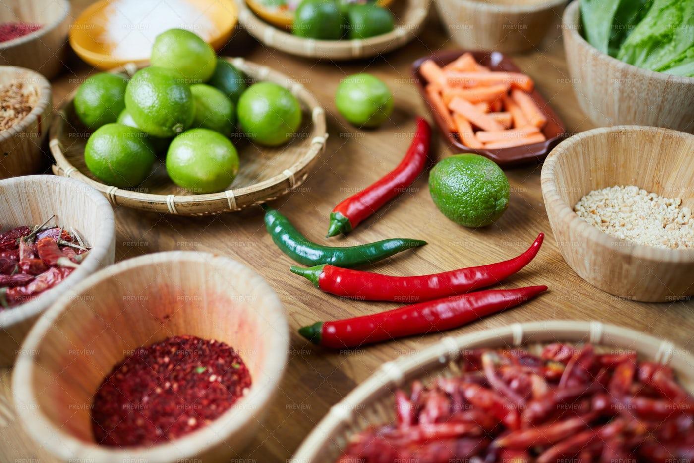 Spicy Ingredients: Stock Photos