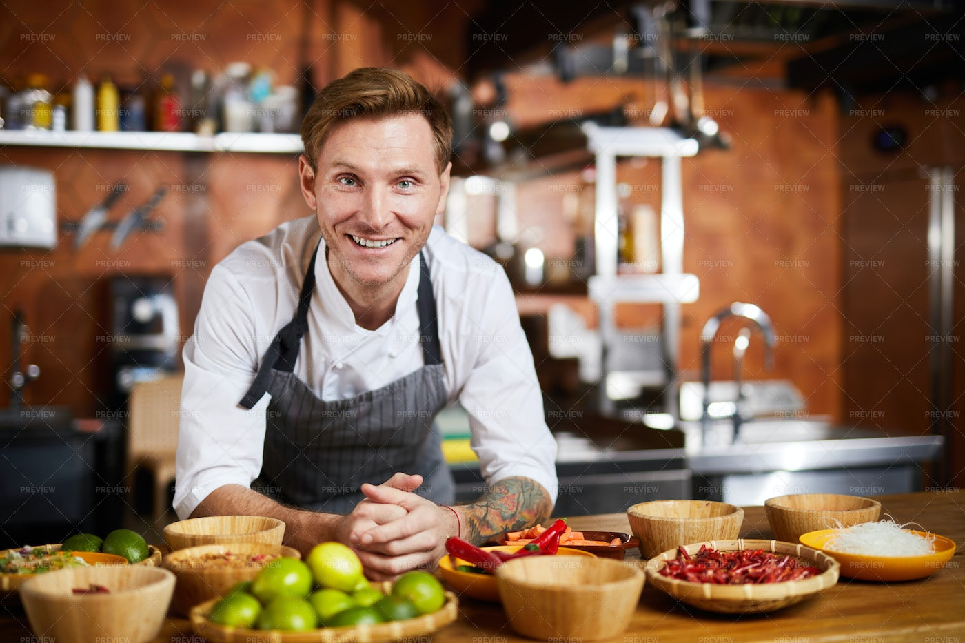 Smiling Chef: Stock Photos
