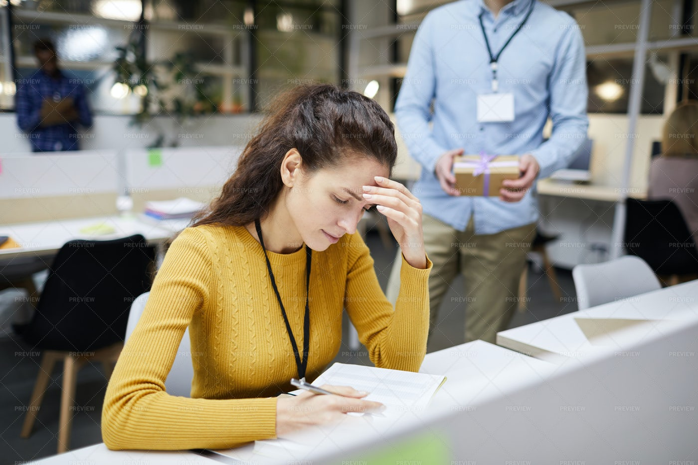 Tired From Work: Stock Photos