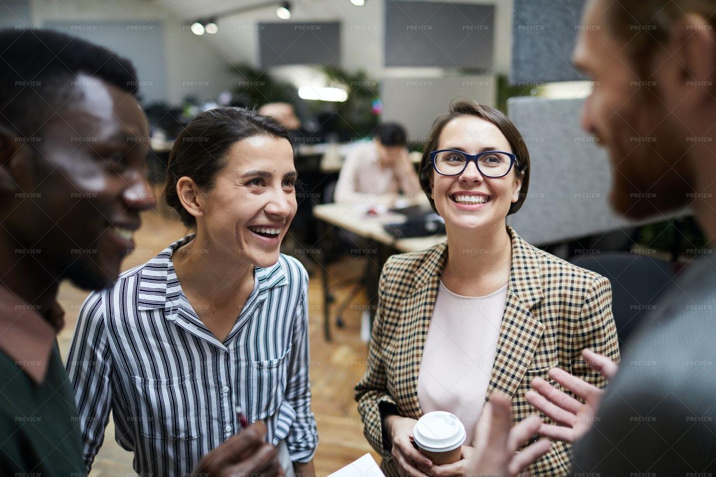 Business People Having Fun At...: Stock Photos