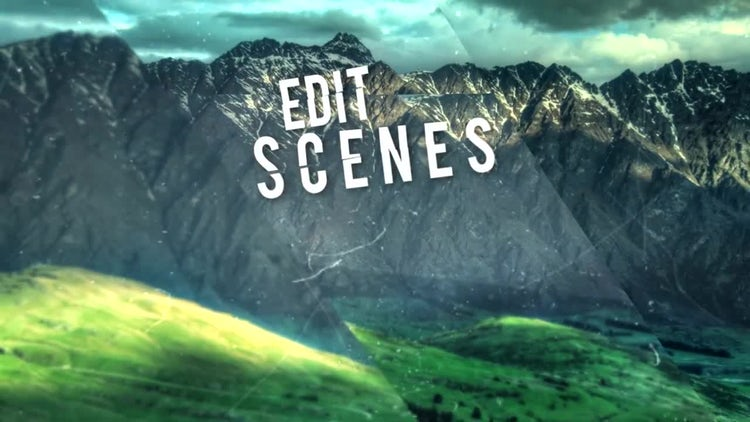 Enchanting Slide: After Effects Templates