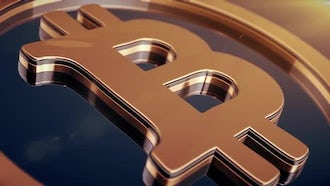 Cryptocurrency Background: Motion Graphics