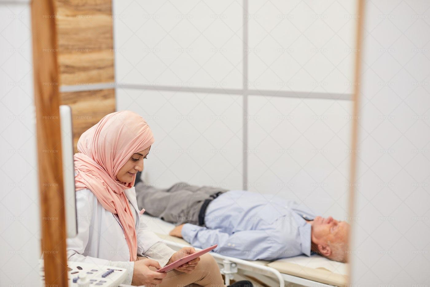 Medical Procedures In Clinic: Stock Photos