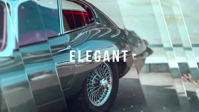 Elegant Glass Slideshow: After Effects Templates