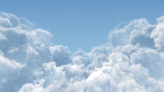 Cumulus Cloud Masses : Motion Graphics