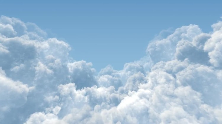 Cumulus Cloud Masses : Stock Motion Graphics