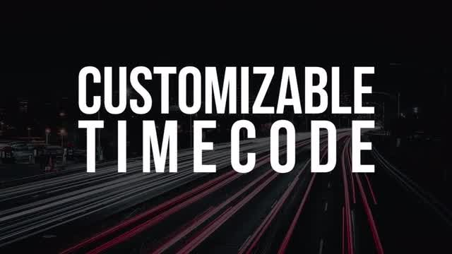 Customizable Timer: Premiere Pro Templates